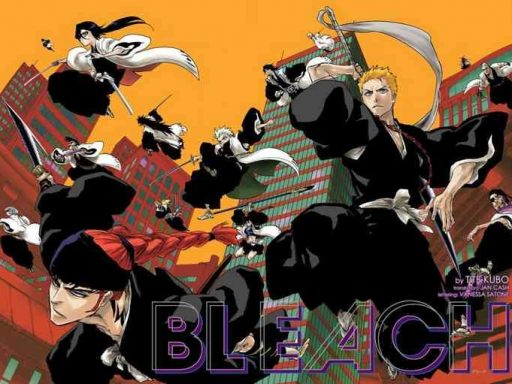 bleach 20th anniversary special one shot cover